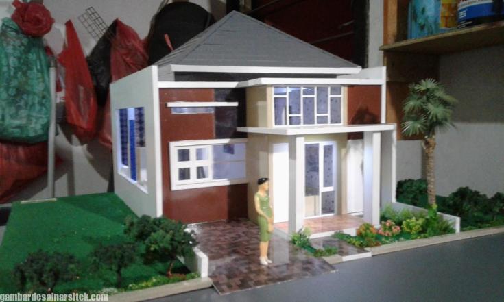Maket Arsitektur Miniatur Model 22 a