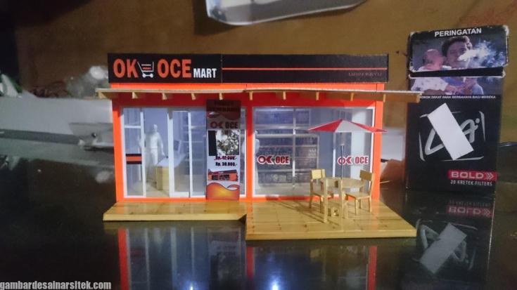 Maket Arsitektur Miniatur Model 24 a