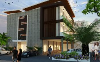 Desain Rumah Kost Minimalis 3 Lantai