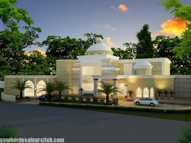 Desain Rumah Mediterania Mewah 2 Lantai (13)