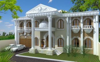 Desain Rumah Mediterania Mewah 2 Lantai 7