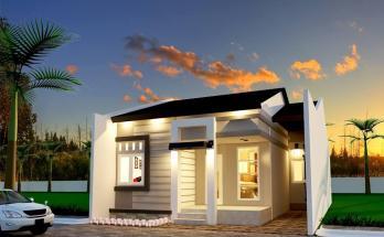 Desain Rumah Minimalis 1 Lantai 45