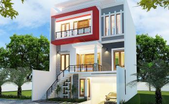 Desain Rumah Minimalis 3 Lantai 34