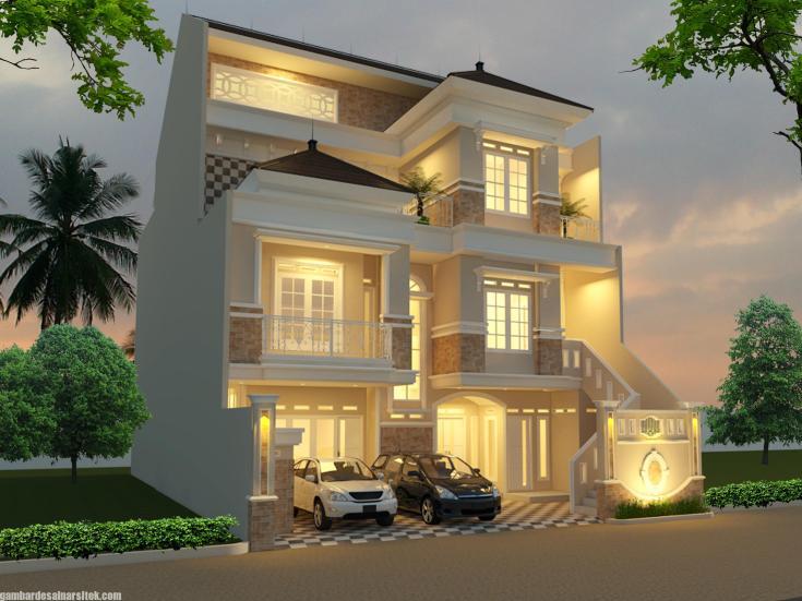 Model Rumah Minimalis 3 Lantai Icon Rumah