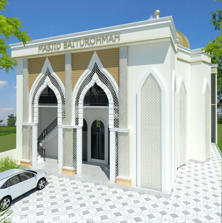 Desain masjid Minimalis Modern (2)