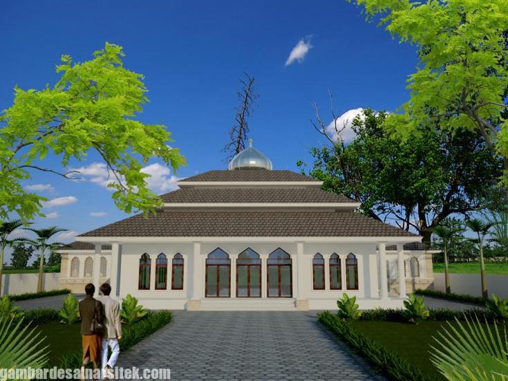 Desain masjid Minimalis Modern (4)