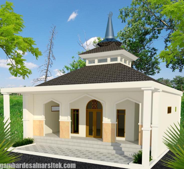 Desain masjid Minimalis Modern (6)
