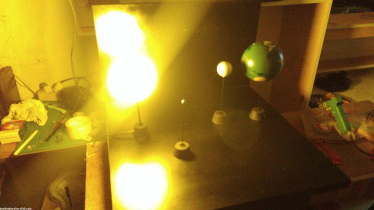 Maket Arsitektur Miniatur Model 38 Edukasi Gerhana Matahari (8)