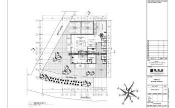 Jasa Desain Rumah Contoh Paket Gambar Kerja 01 DENAH LANTAI 1