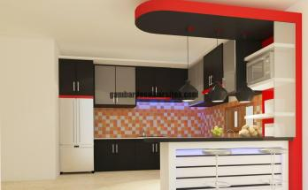 Desain Interior Kitchen Set 6