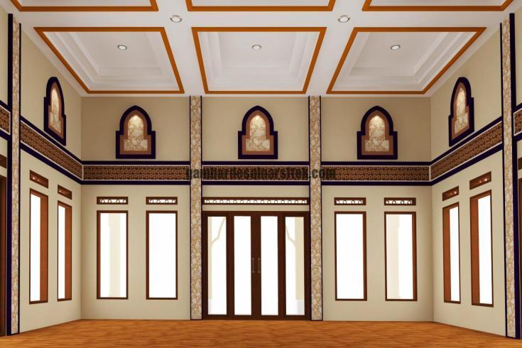 2 Desain Interior Masjid Minimalis Gambar Desain Arsitek