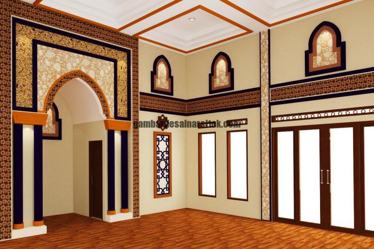 Desain Interior Mimbar Masjid Minimalis 2