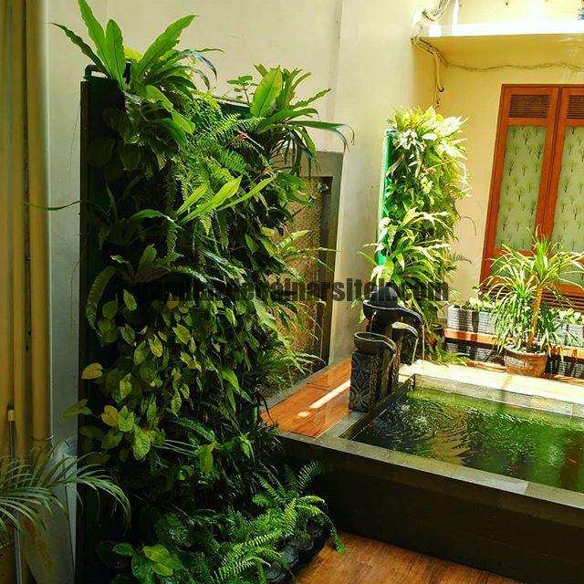 Jasa Pembuatan dan perawatan taman Bandung Jakarta Vertical garden 1