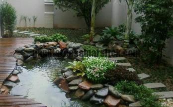 Jasa Pembuatan Kolam Ikan Natural di Bandung 1