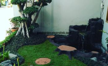Jasa Pembuatan Taman di Bandung Bonsai Karet Korea