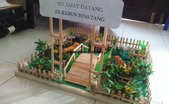 Cara Membuat Maket Kebun Binatang 18 1