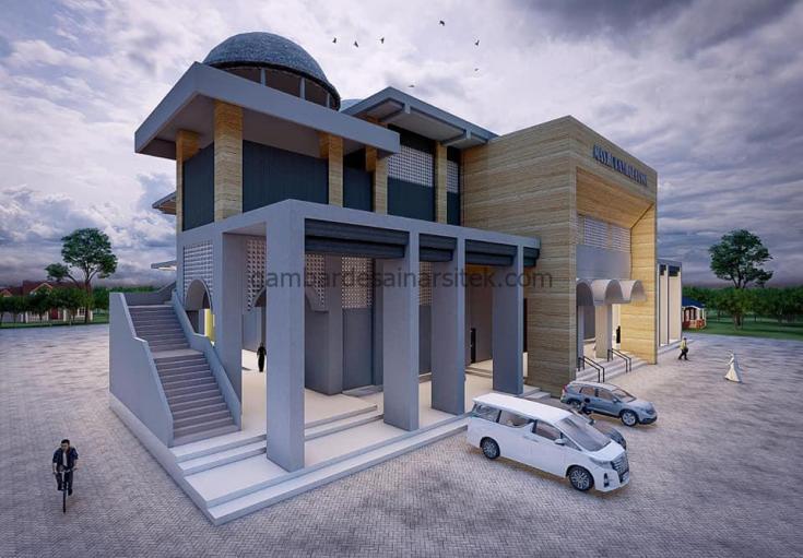 Desain Masjid Minimalis 2021 4