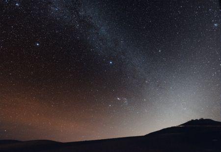 Koleksi Gambar Bulan Dan Bintang Di Malam Hari Terindah