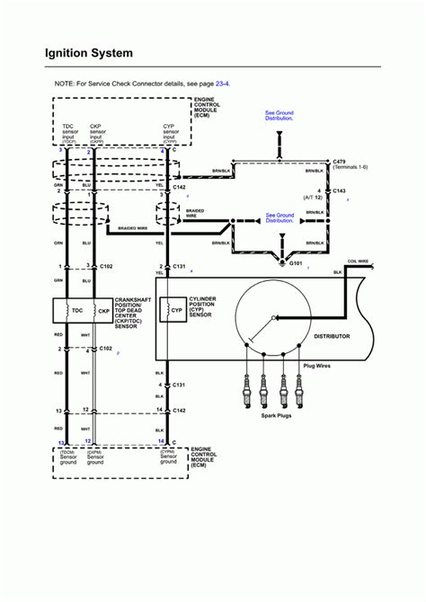 1990 Honda Civic Distributor Wiring Diagram