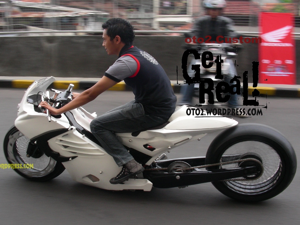 Gambar Modifikasi Motor Honda Supra  Gambar Modifikasi Motor