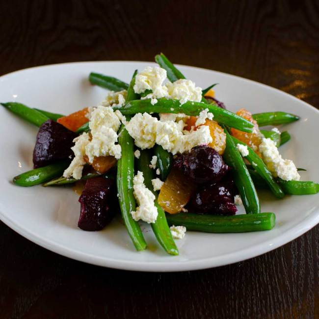 Green Bean Beetroot Salad