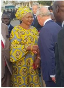 Prince Charles In Banjul