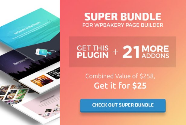 Check out Super Bundle for WPBakery Page Builder / Visual Composer