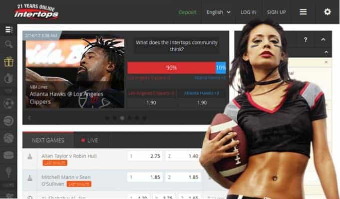 Sports betting - Sportsbook