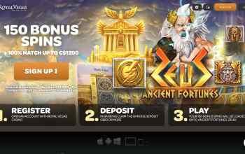 Royal Vegas Casino : Get $1,200 Free Bonus + 150 Spins