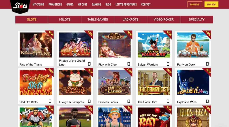 Slots Capital Casino : $7 Free + $9,600 Deposit Bonus