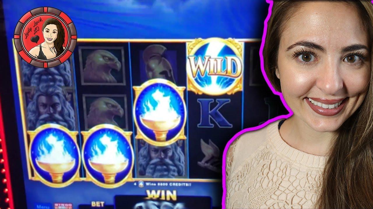 Zeus slot machine big win