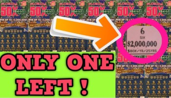 $60 IN SCRATCH OFF LOTTERY TICKETS! CAN WE FIND A JACKPOT