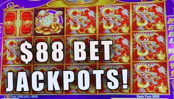 88 Bets 5 Treasures High Limit Slot Play Massive Wins