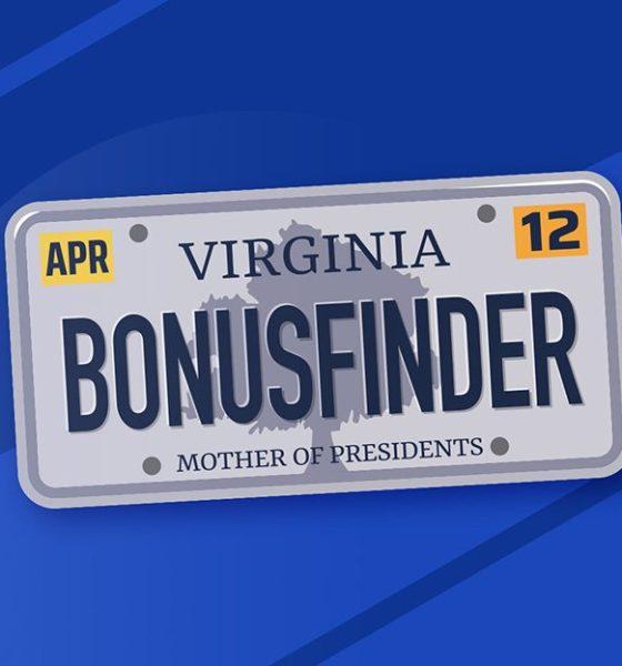 BonusFinder granted affiliate licence for Virginia