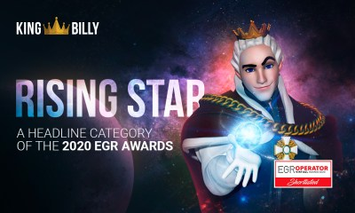 King Billy shortlisted again in the 2020 EGR Operator Awards