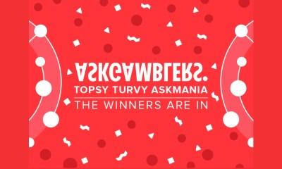 Topsy Turvy AskMania Affiliate Race Has Its Winners
