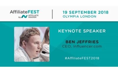 AffiliateFEST 2018 - Key Note Speaker Announced