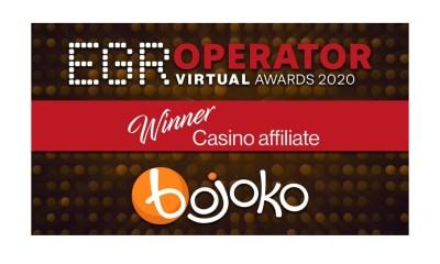 Bojoko crowned Casino Affiliate of the Year 2020
