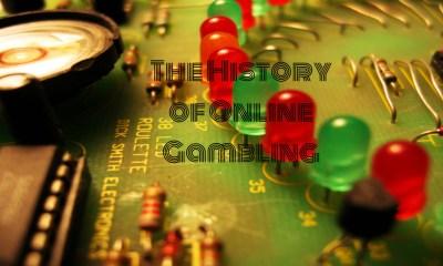 online gambling history
