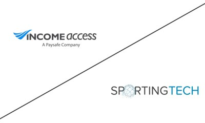 SportingTech Partners with Income Access