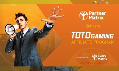 PartnerMatrix powers TotoGaming Affiliate Program