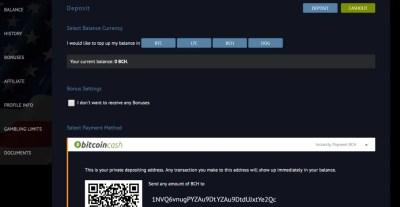 Bitcoincasino.us adds Litecoin, Bitcoin Cash and Dogecoin ...