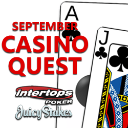 video poker bonus and blackjack bonus during fall casino quest