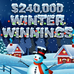 Winter Winnings casino bonus competition