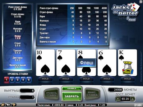 Jacks or Better от Net Entertainment