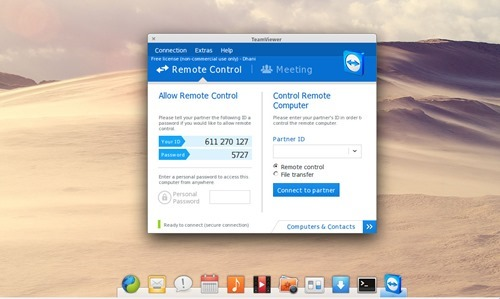teamviewer on elementary os