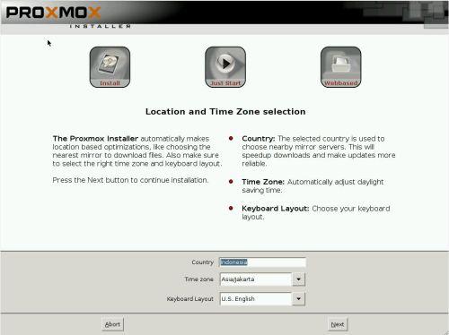 install proxmox 3.2 -4