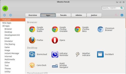 ubuntu tweak 0.8.7 on pinguy os 1