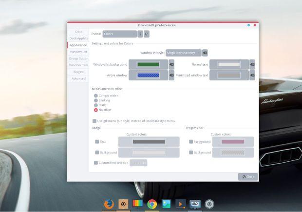 dockbarx on ubuntu 14.04