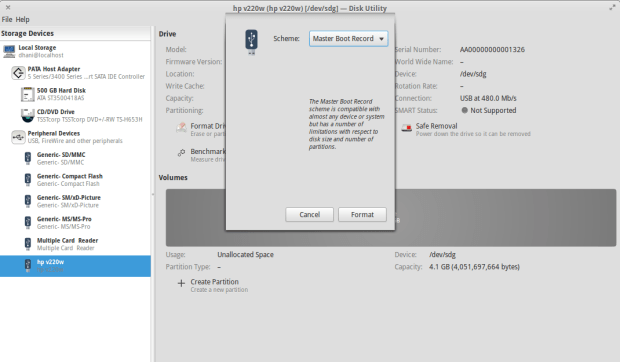 format disk to ntfs -1